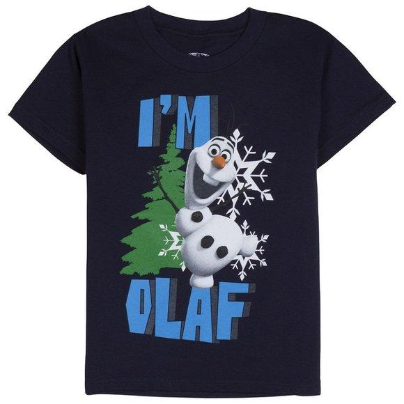 Frozen Olaf T Shirt Sizes Large or Extra Large Size 14-16 or 18-20 Disney